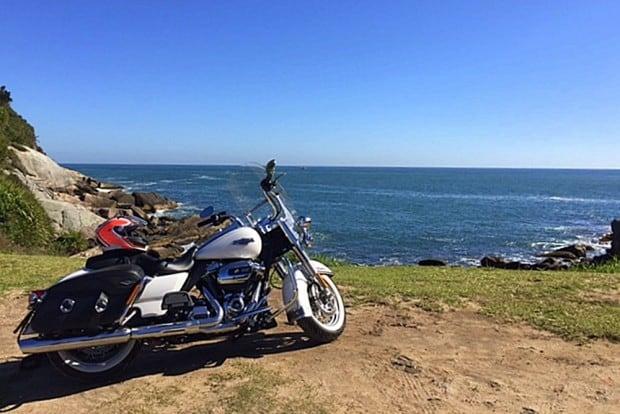 Cartão postal: Harley-Davidson Road King