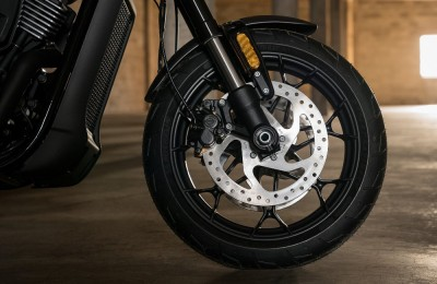 Sistema de freios ABS é item de série na Europa, e opcional nos Estados Unidos