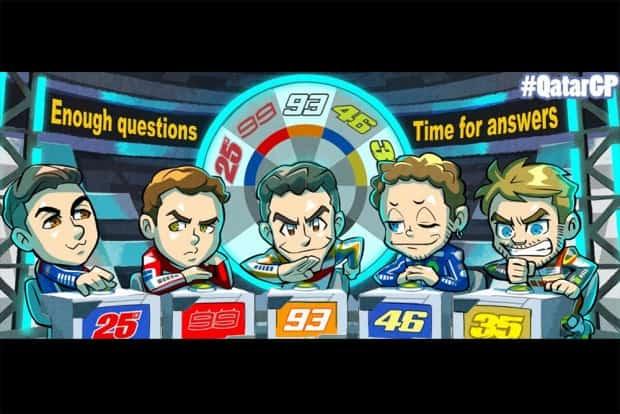 Viñales, Lorenzo, Márquez, Rossi, Cal? E aí, em quem você aposta para esta temporada do mundial de motovelocidade?