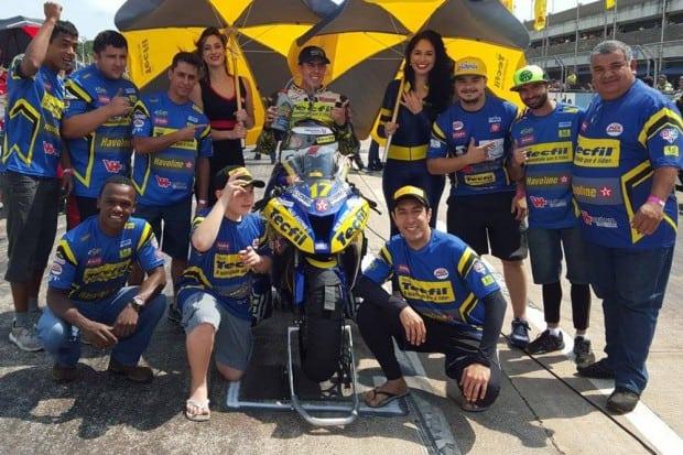 Equipe Tecfil faturou a primeira etapa da Copa Pirelli de SuperBike