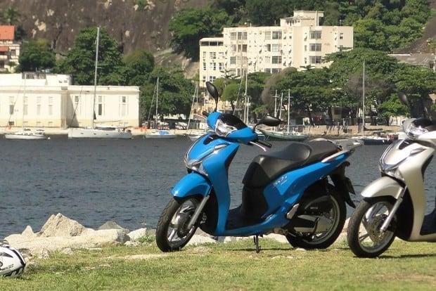A SH 150i é dura demais para uma moto urbana e transmite à coluna vertebral do motociclista até as mínimas imperfeições do asfalto