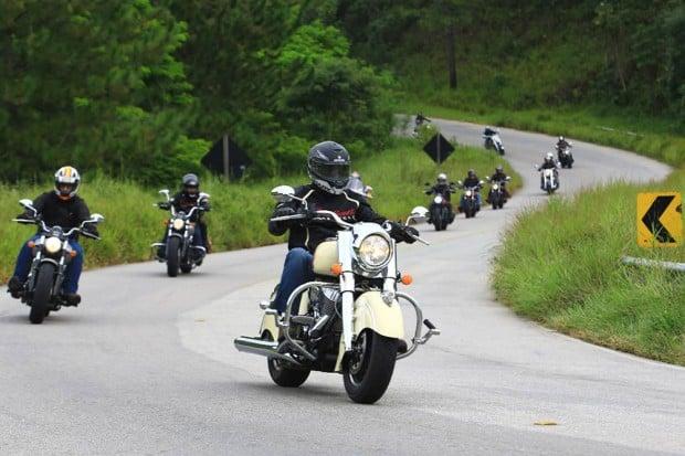Indian Motorcycle Riders Group promoverá 15 eventos em 2017. Veja o calendário