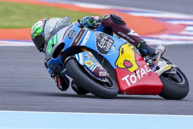 Franco Morbidelli vence GP da Argentina pela categoria Moto2 (Foto: Gilmar Rose / VGCOM)
