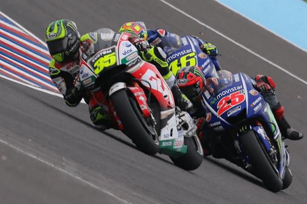 Crutchlow andou na frente da dupla Yamaha por algumas voltas. Piloto foi o melhor representante da Honda na segunda etapa da MotoGP 2017, mesmo em uma equipe secundária