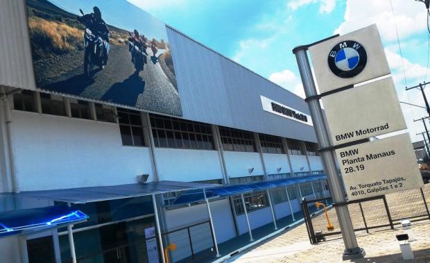Fábrica da BMW Motorrad em Manaus (AM): investimento até agora de 15 milhões de Euros e capacidade de produção de 10 mil motos por ano