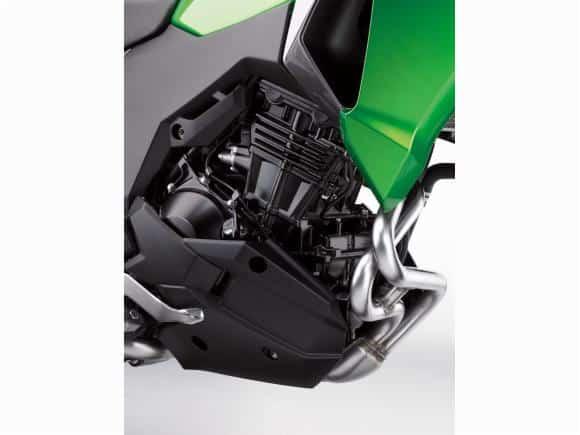 Além do preço, outra aposta da Verys-X 300 é o motor de dois cilindros e 40 cv