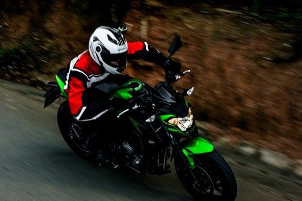 A Z650 é uma moto completamente diferente da sua antecessora