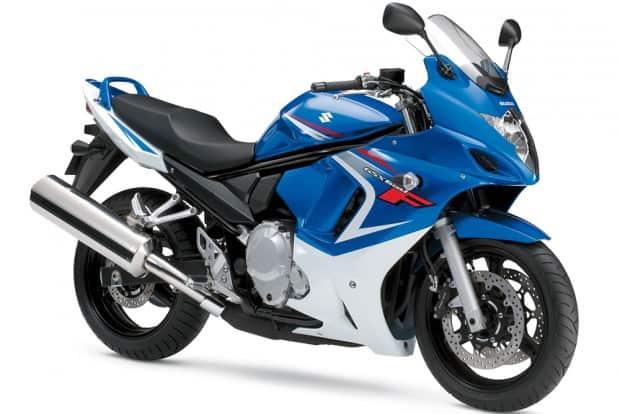 Em virtude do rigor da Euro4, fim da produção de todas as motos que usavam a plataforma Bandit: GSF Bandit 650N, 650S, GSX 650F (foto), 1250N, 1250S e GSX 1250 FA