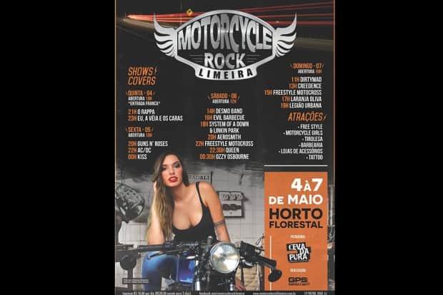 Programação do Motorcycle Rock Limeira promete agitar o interior de São Paulo neste final de semana
