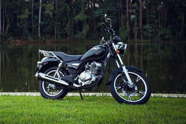 Chopper Road 150,da Haojue: preço mais baixo que a Suzuki Intruder 125: R$ 5.990,00