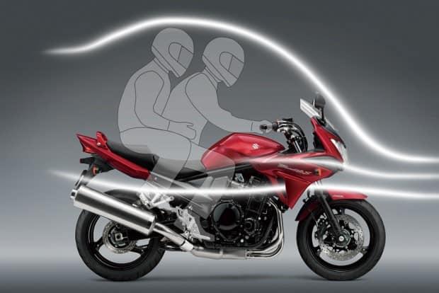 """Em todas as Bandit, mas especialmente na 1250S, a ideia era se ter uma moto potente, divertida e confortável. Eram construídas sob o conceito """"fun and comfort"""""""