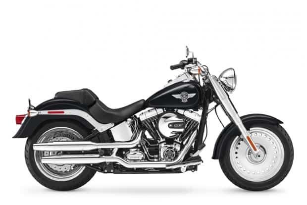 A Fat Boy está em produção há 27 anos, considera uma das motos mais icônicas na marca americana