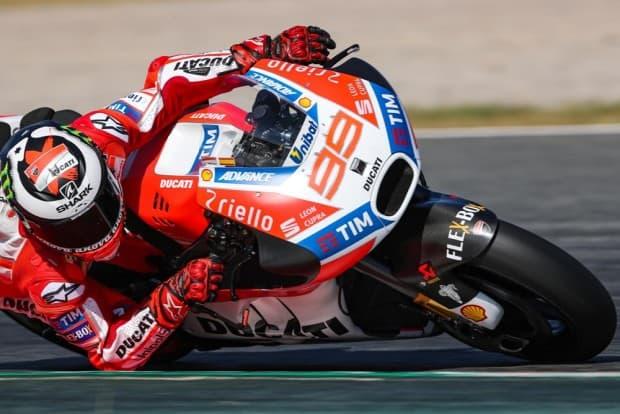 Lorenzo começa a encontrar o melhor acerto para a sua Ducati