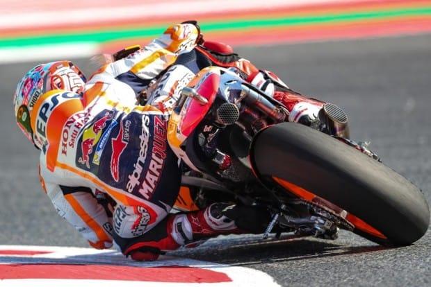 Márquez reconheceu a força das Ducati e contentou-se com o segundo lugar