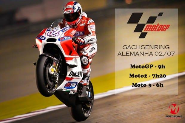 MotoGP realiza nona etapa da temporada na Alemanha. Dovizioso (4), com duas vitórias, segue líder e coloca a Ducati na briga pelo título da temporada