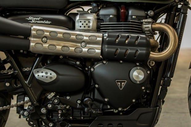 Motor de 900 cc com intervalo de ignição de 270º garante uma curva de torque e potência totalmente linear