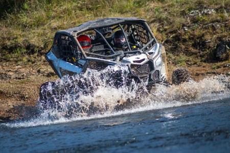 A dupla Deninho Casarini e Luis Felipe Eckel obteve o primeiro lugar no Rally Rota SC nos UTVs