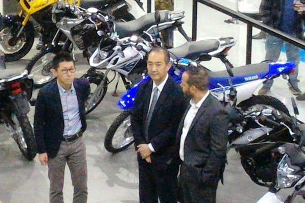 Presidente da Yamaha, Itaru Otani, prestigiou a inauguração da Nacar Motorcycles