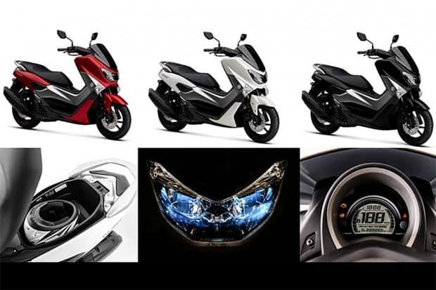 Modelo conta com freios ABS, painel completo e totalmente digital, porta-capacete generoso e farol em LEDnmax-160-2018-yamaha-2