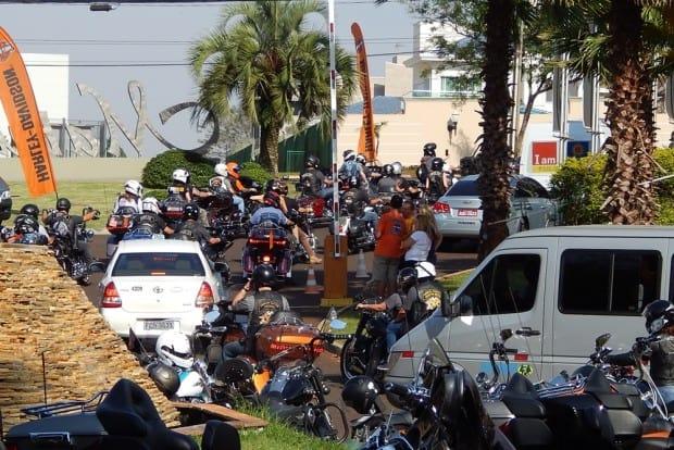 Congestionamento de Harley-Davidson na cidade: só por 3 dias