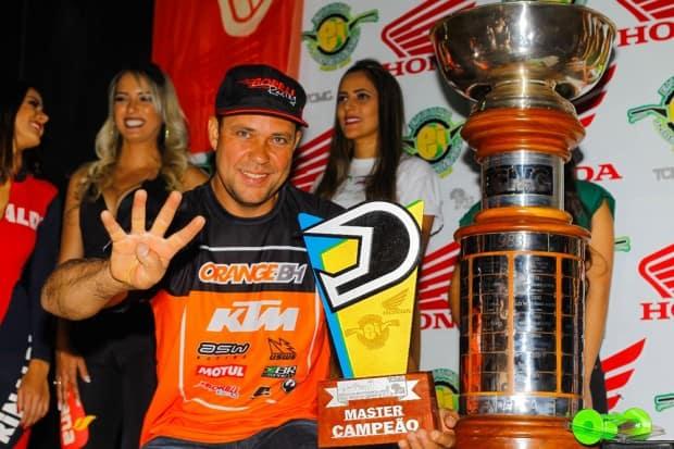 Jomar Grecco venceu o Enduro da Independência pelo quarto ano