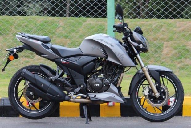 A indiana TVS já produz a Apache 200 e acreditamos que uma parceria com a Dafra trará a moto para nosso país. Modelo tem design de alta qualidade e iluminação em LED