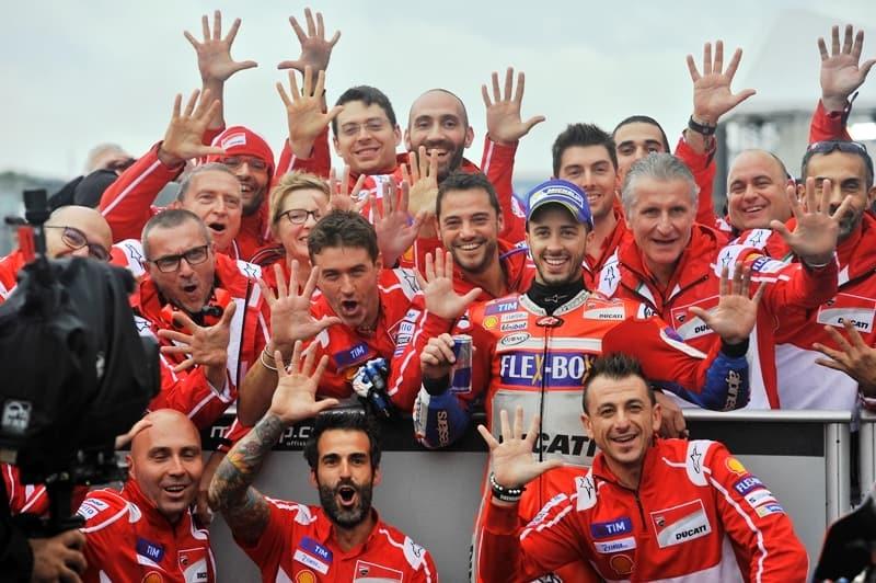 Team Ducati: quinta vitória nesta temporada