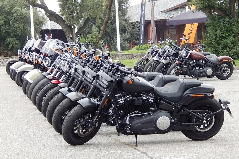 Motor, chassi, suspensões, peso, iluminação, design... a Harley-Davidson renovou com-ple-ta-men-te duas famílias de motos em 2017