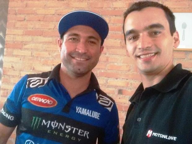 Ruan Burdino e tietagem explícita com Ricardo Martins