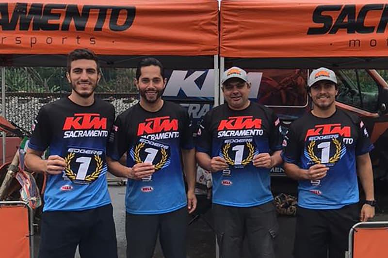 Sacramento Racing obteve títulos com os pilotos Vinícius Calafati, Reinaldo de Almeida, Nielsen Bueno e Victor Miranda, e também o por equipes