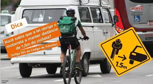 Dicas para motoristas, ciclistas, pedestres e motociclistas fazem parte da palestra da Abraciclo
