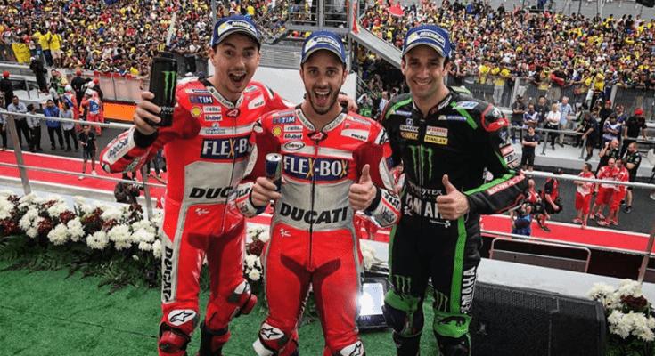 Onde estão Honda e Yamaha? Dovizioso, Lorenzo e Zarco conquistaram as primeiras posições