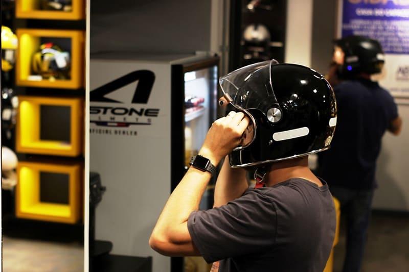 Compra de capacete deve ser como uma roupa numa alfaiataria: sob medida