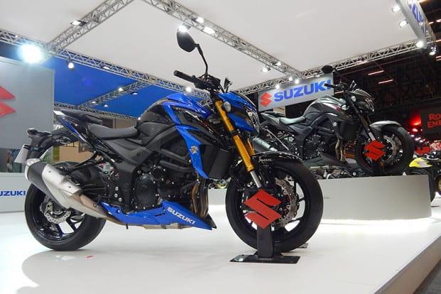 Suzuki levou suas motos de alta cilindrada e também as Kymco e HaoJue