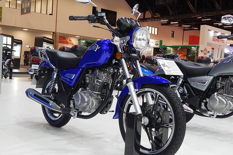 Haojue Chopper é a moto mais vendida da Suzuki e também no segmento Custom