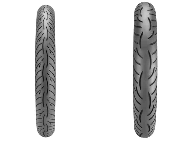 Um pneu premium para motos pequenas
