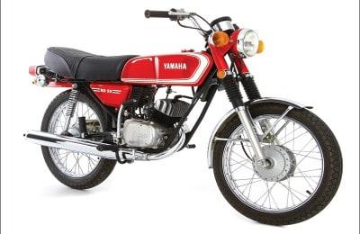 Yamaha RD 50, a primeira motocicleta fabricada no Brasil, em 1974