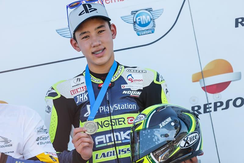 O objetivo principal era fazer de cada prova um aprendizado, mas Meikon Kawakami se permitiu um pouco mais e encerrou sua estreia no Europeu de Motovelocidade com um terceiro lugar, depois de uma vitória e alguns pódios