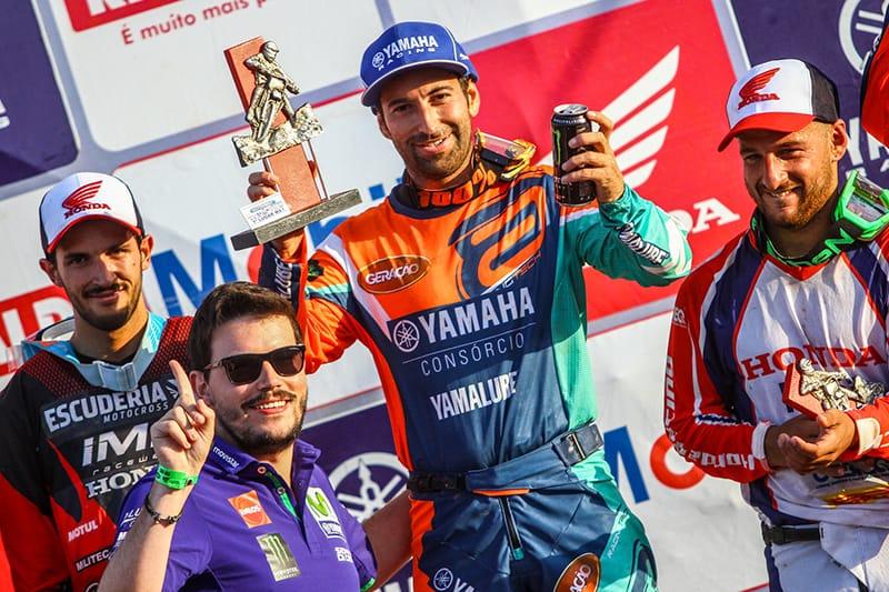 Espanhol Carlos Campano ampliou para 24 pontos sua vantagem na liderança do Brasileiro de Motocross, mas título ainda não está definido