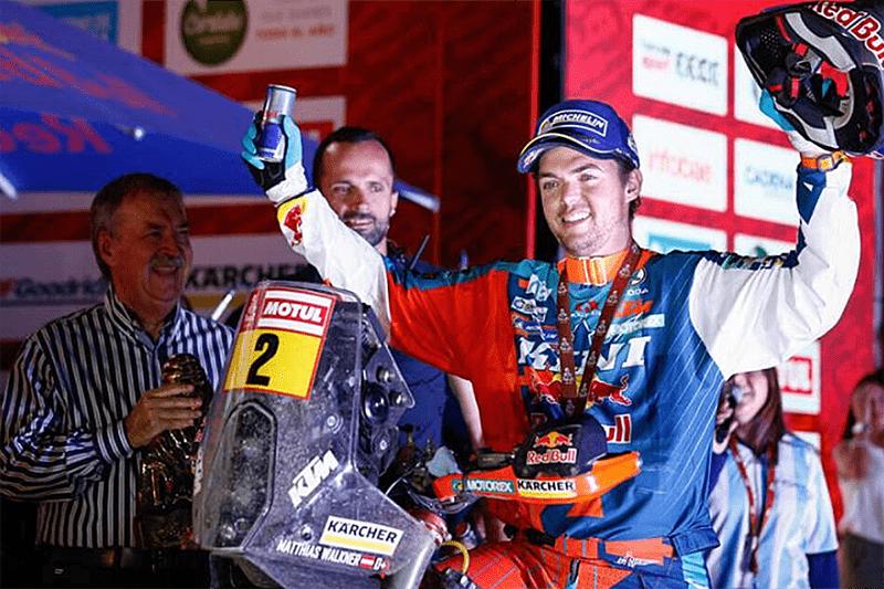 Matthias Walkner é o campeão do Rally Dakar 2018. Piloto conquistou o vice no ano passado e agora mostrou regularidade para sair vencedor
