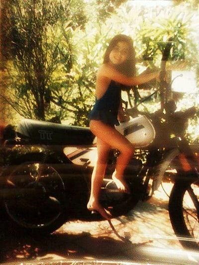 Criança, Ana Luísa via as motos do pai, mas só foi andar com a TT já adulta