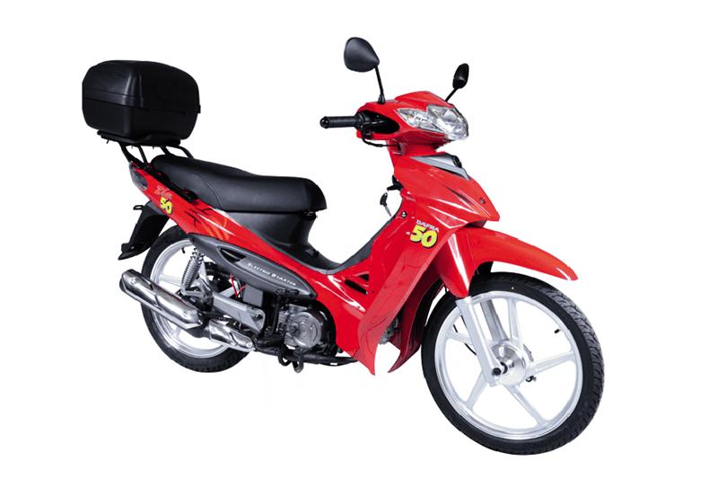 Lançada em 2011 já como modelo 2012, a Dafra Zig 50 garantia muita economia na hora de abastecer. Porém, a movimentação do mercado levou a marca a encerrar sua produção