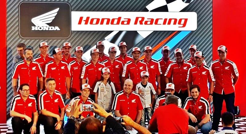 O time Honda Racing completo
