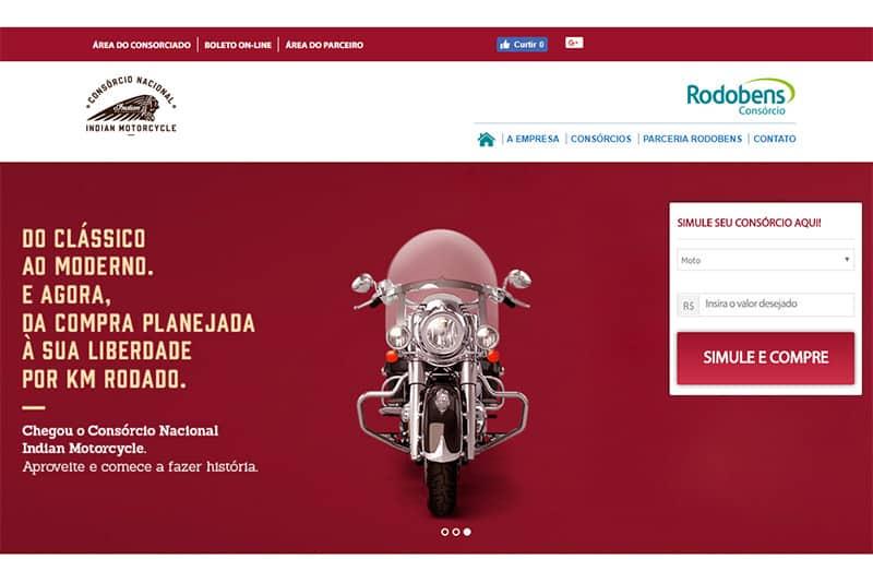 A empresa Rodobens, com 55 anos de experiência no mercado, foi a escolhida para operar o consórcio da Indian