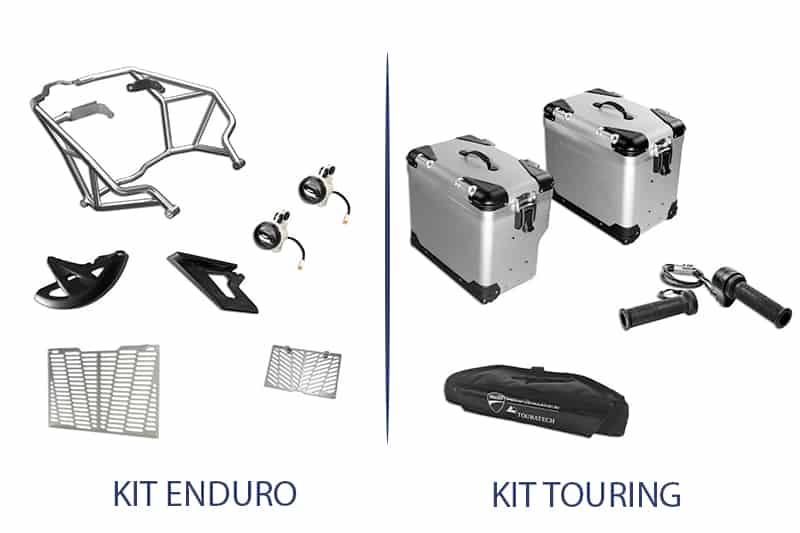 Edição especial traz dois kits exclusivos, o Enduro (faróis auxiliares, protetor de motor, protetor de radiador e protetor de disco e correia) e o Touring (malas laterais em alumínio, manoplas aquecidas e bolsa de guidão)