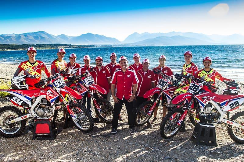 Equipe Honda Racing Brasil está em peso na Argentina para disputar a primeira etapa do Mundial de Motocross. Foto: Idario Araújo/Vipcomm