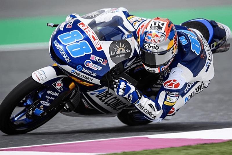 Jorge Martin quer mais uma grande temporada na Moto3. Piloto ficou com o terceiro lugar em 2017 e agora estreou com vitória