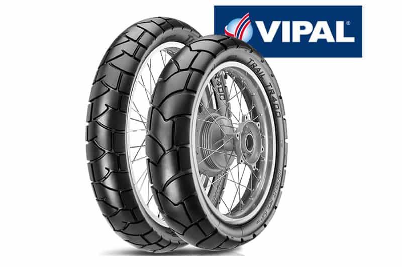 Vipal apresenta seu novo pneu para moto, o TR400. Produto é destinado a motos de baixa cilindrada e uso misto, com predominância de asfalto