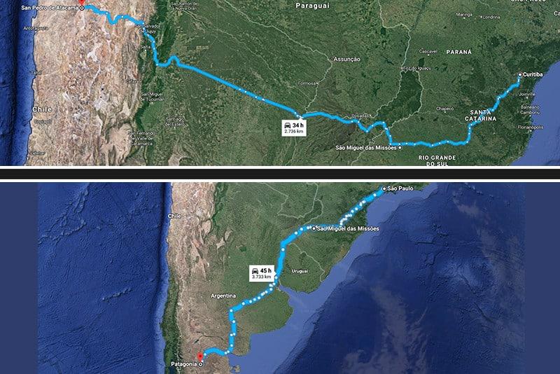 Cidade fica no noroeste gaúcho. Por isso, pode ser rota para quem vai ao Chile ou à Argentina