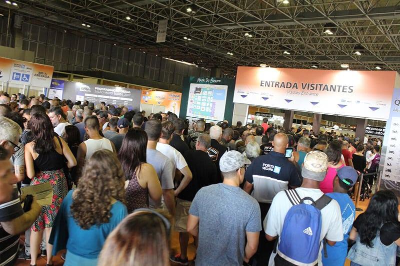 Primeiro lote de ingressos para o Salão Moto Brasil já está a venda, ao preço promocional de R$ 20,00. Em 2017, mais de 90 mil pessoas visitaram os stands